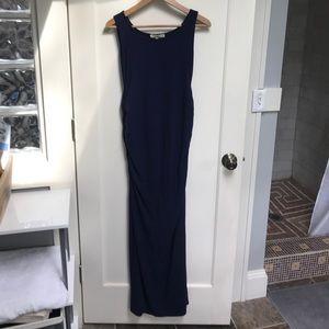 Kimi-kai Maternity, Navy blue maxi dress